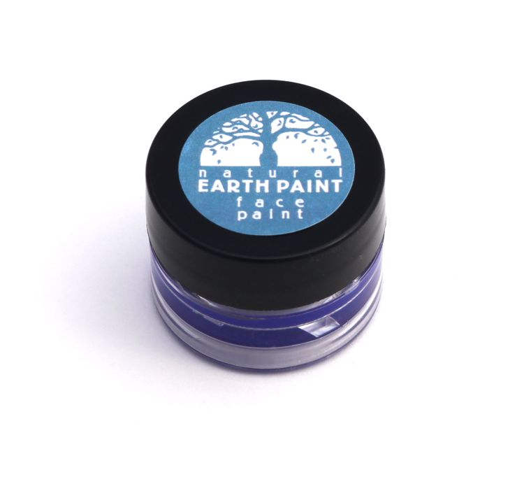 Blue Face Paint  - Individual .4 oz jar