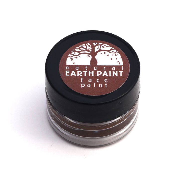 Brown Face Paint  - Individual .4 oz jar