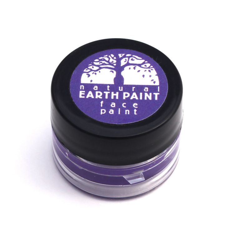 Purple Face Paint  - Individual .4 oz jar