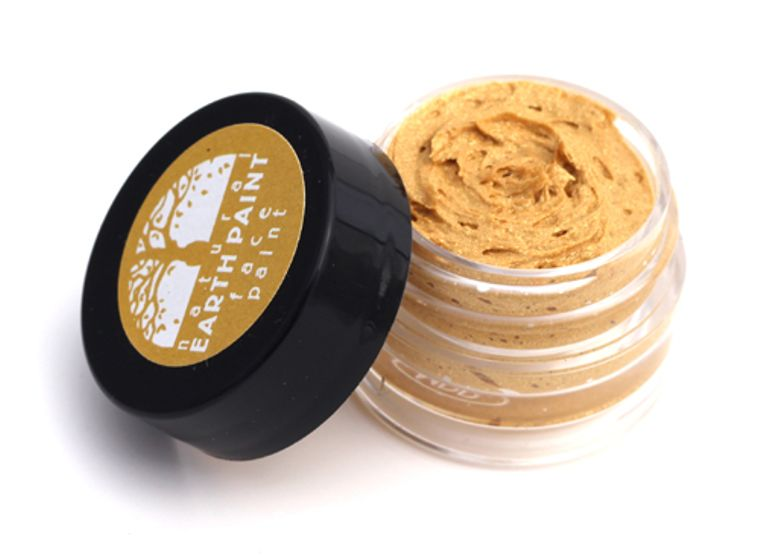 Gold Face Paint  - Individual .4 oz jar