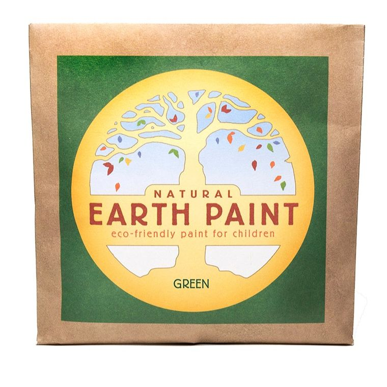 Green - Natural Earth Paint Individual Packet (makes 16 oz)