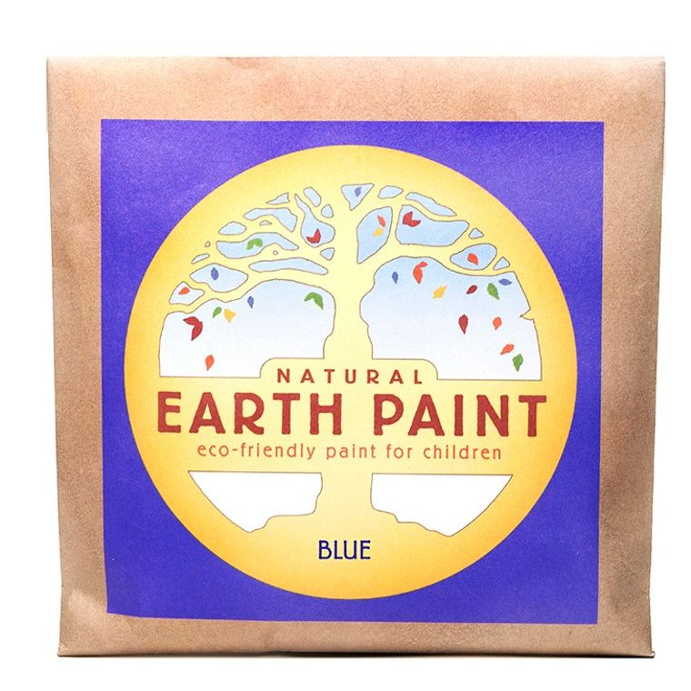 Blue - Natural Earth Paint Individual Packet (makes 16 oz)