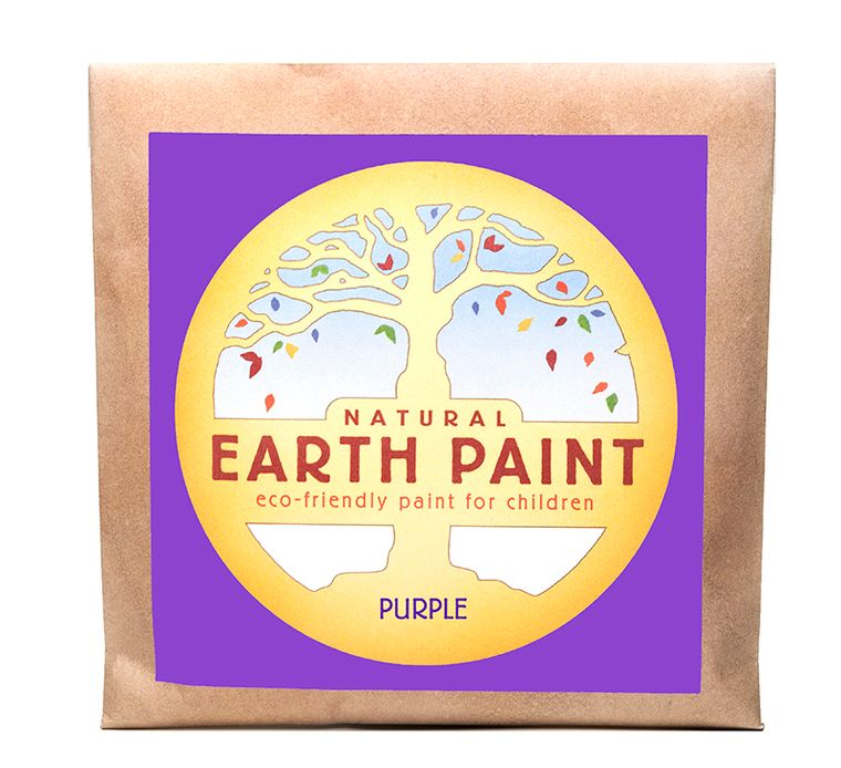 True Purple - Natural Earth Paint Individual Packet (makes 16 oz)