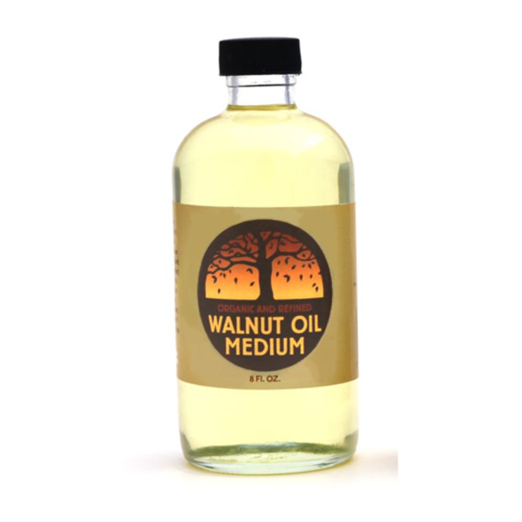 Walnut Oil - Refined (8 oz) In glass bottle