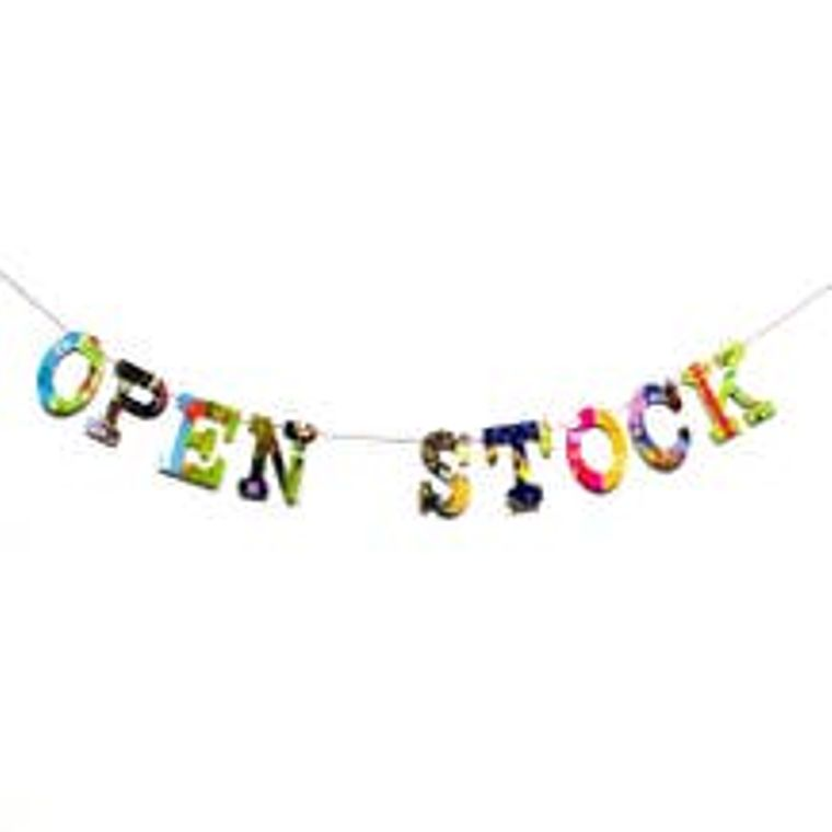 Open Stock Letters Opening