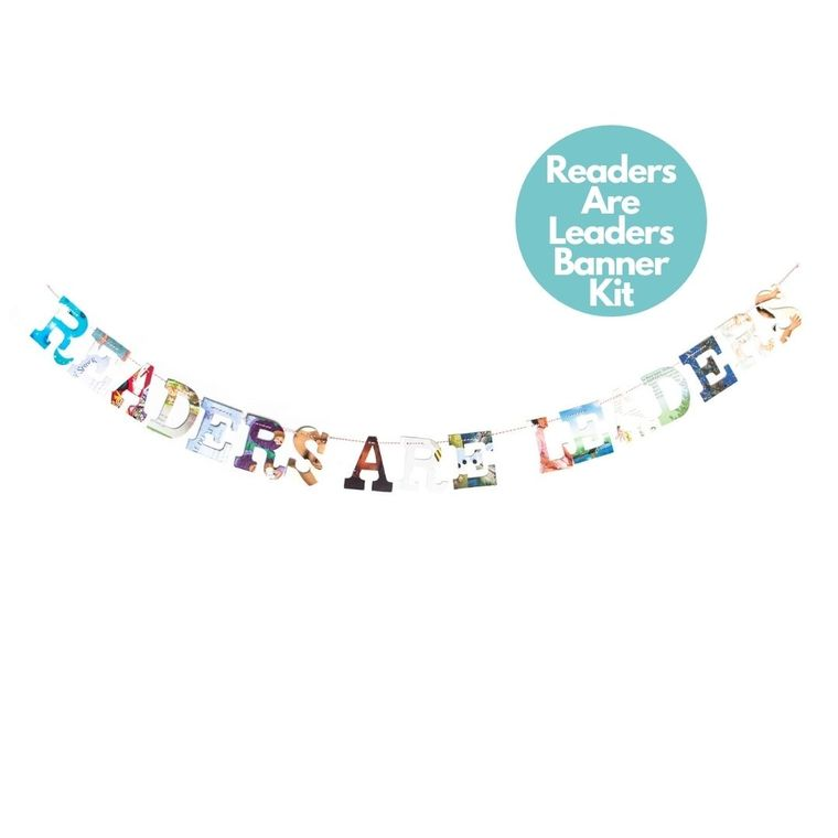 Phrase Garlands- Readers Are Leaders