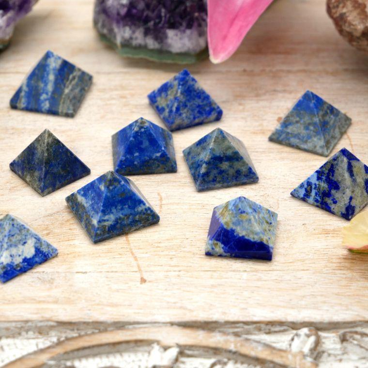 Lapis Lazuli Pyramids