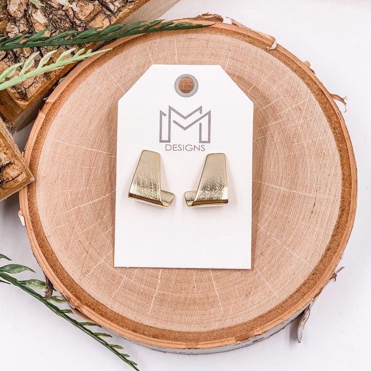Lane Earrings - Gold