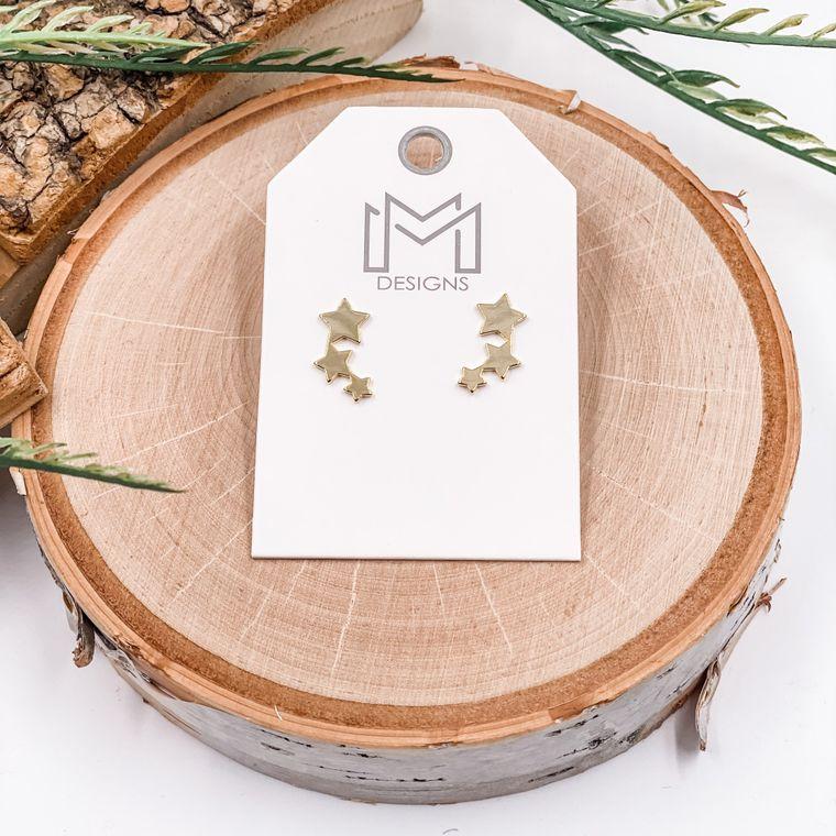 Twinkle Earrings - Gold
