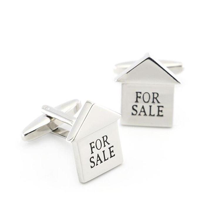 For Sale Realtor Cufflinks