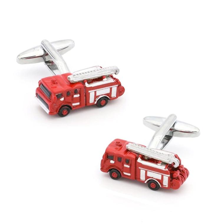 Red Fire Engine Cufflinks