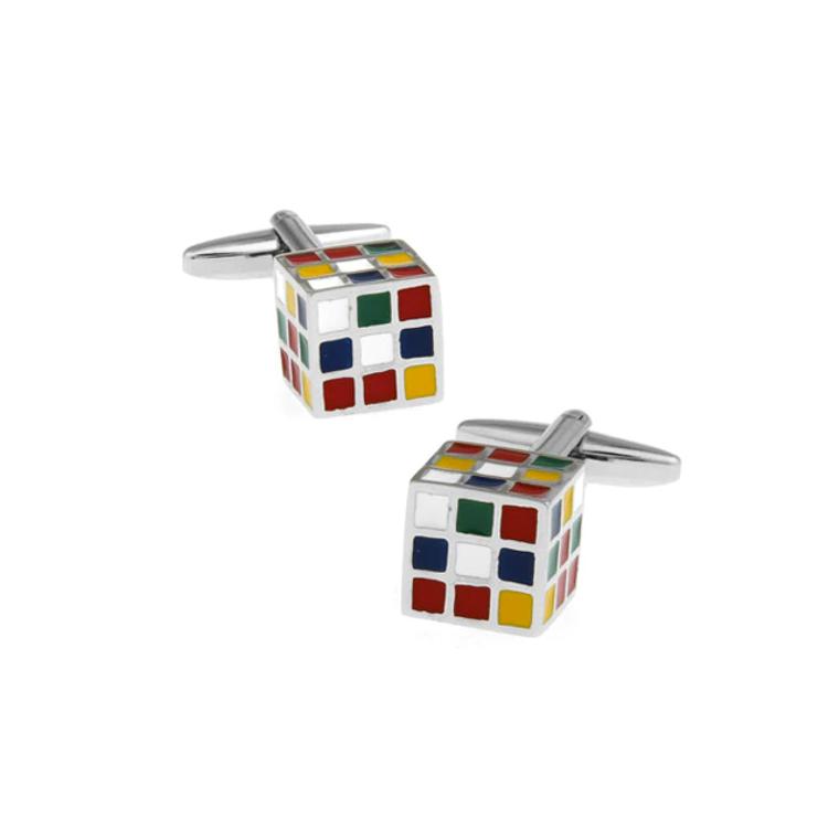Rubiks Cube Cufflinks