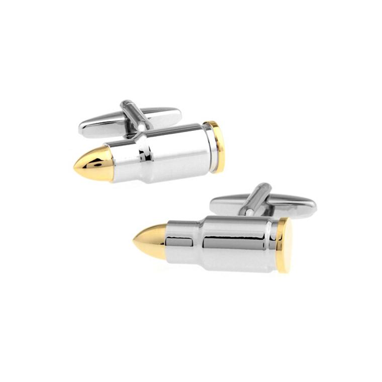 Silver Bullet Cufflinks