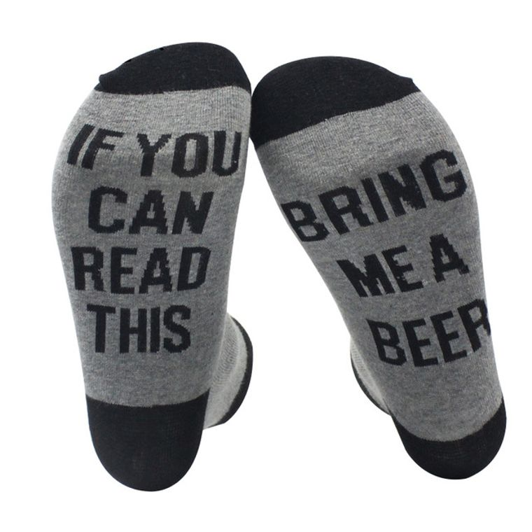 If You Can Read This Bring Me A Beer Socks V2