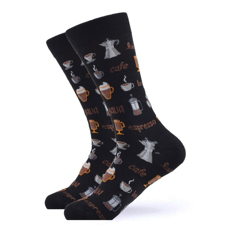 A Little Espresso Socks