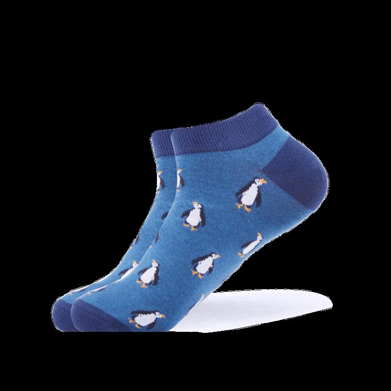 Antarctic Penguin Ankle Socks