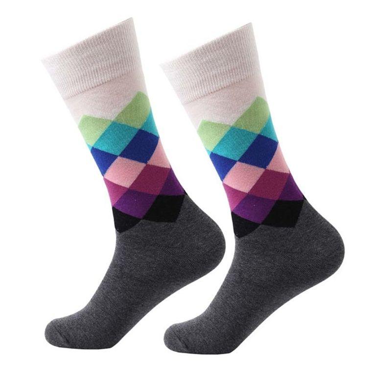 Argyle Flying High Socks