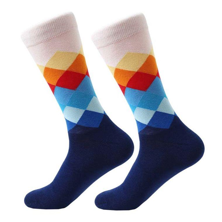 Argyle Ocean Side Socks
