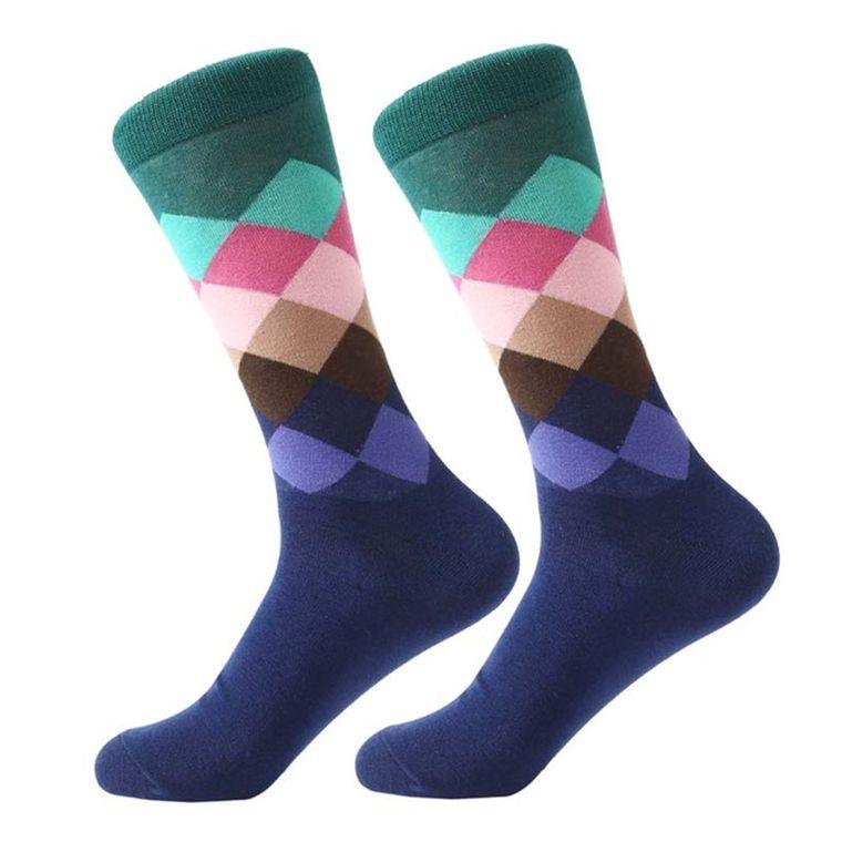 Argyle Spring In Your Step Socks