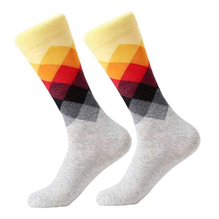 Argyle Sunset Socks