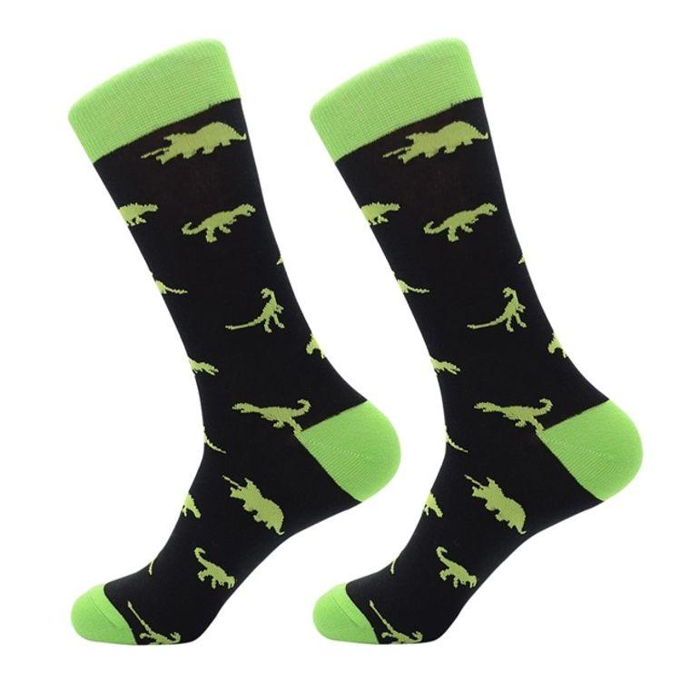 At Large Dinosaur Socks