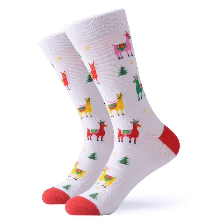 The Christmas Llama Socks