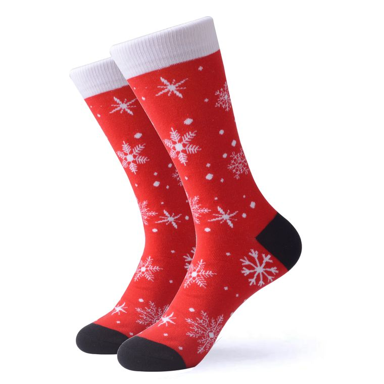 The Christmas Snowflake Socks