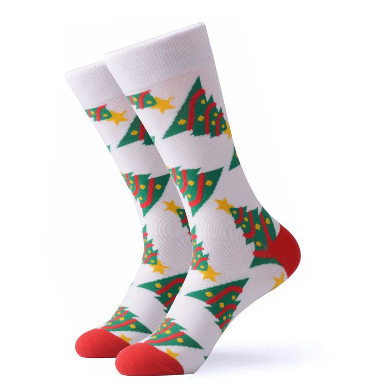 The Decorated Christmas Tree Socks