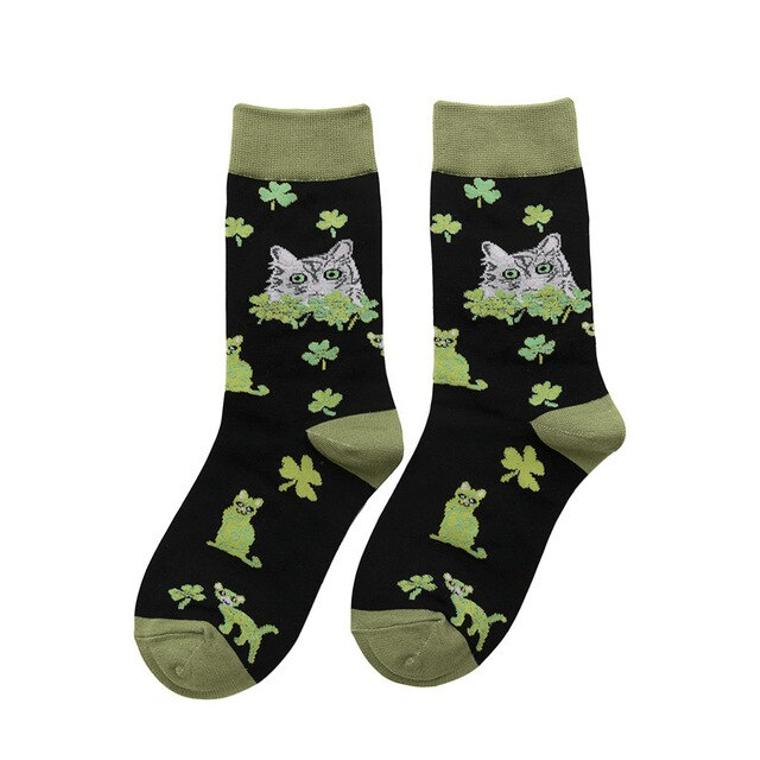 Women's Lucky Kitty Socks