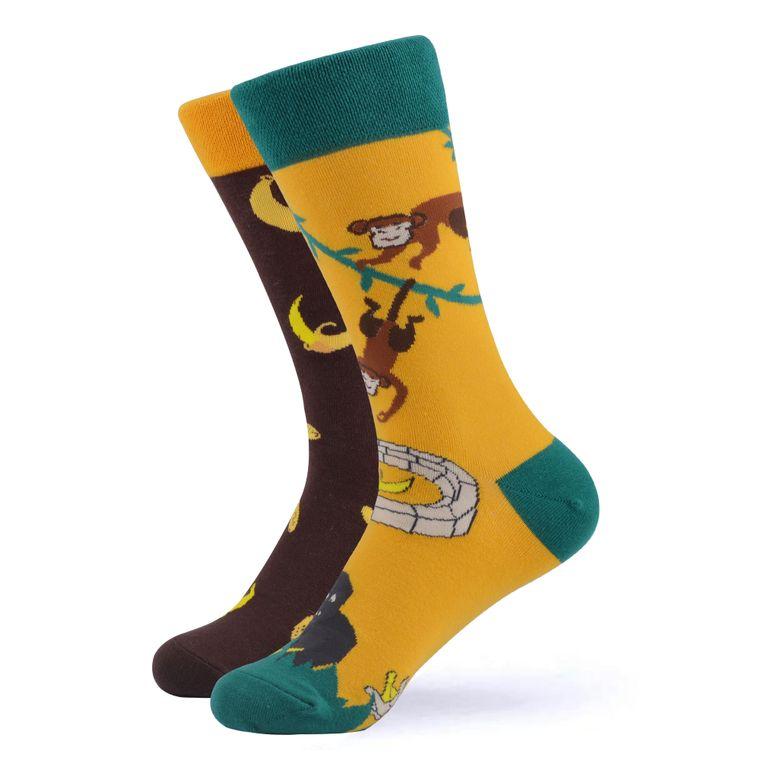 Women's Mischievous Monkey Socks