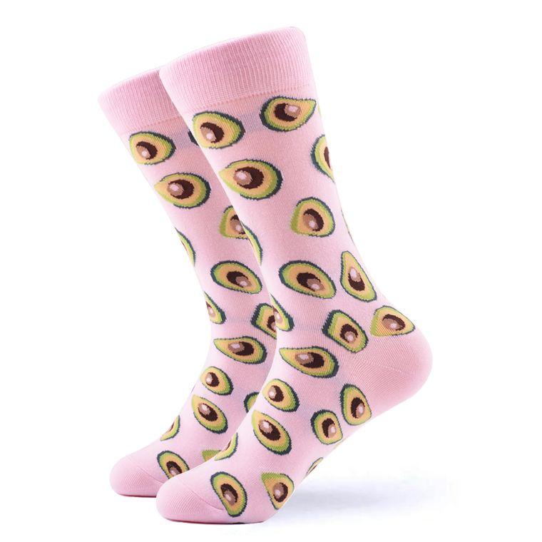 Women's Pink Avocado Socks