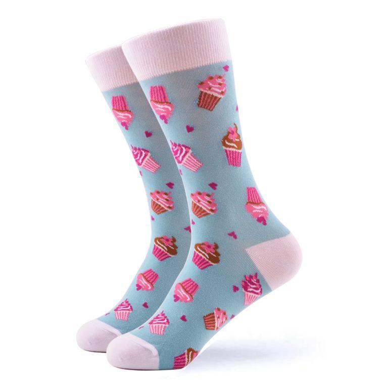 Women's Pink Cupcake Socks