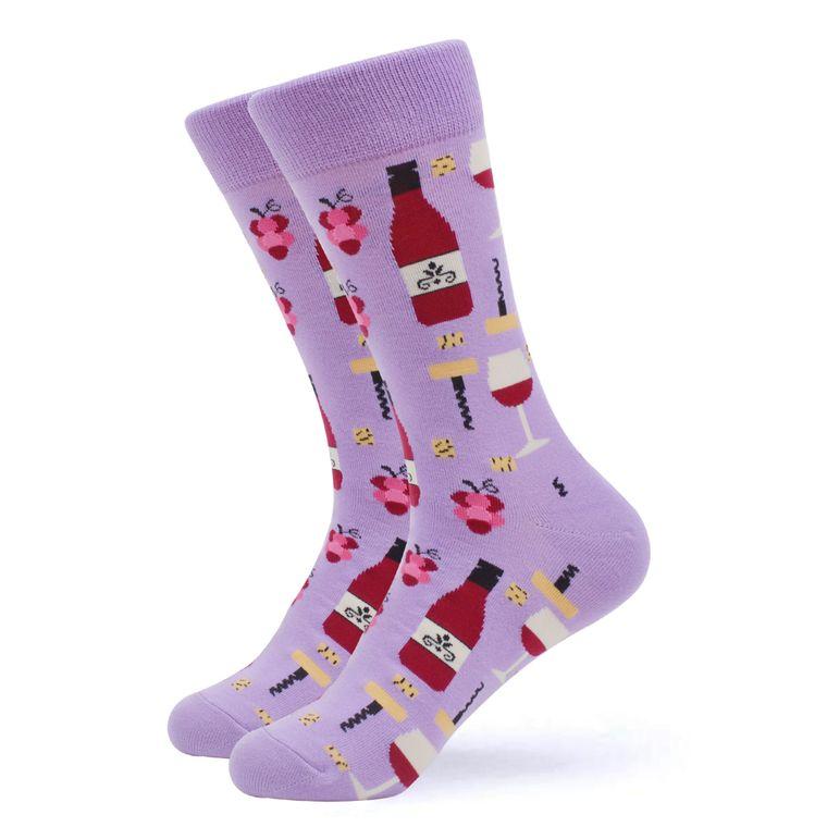 Women's Pop The Bottle Wine Socks