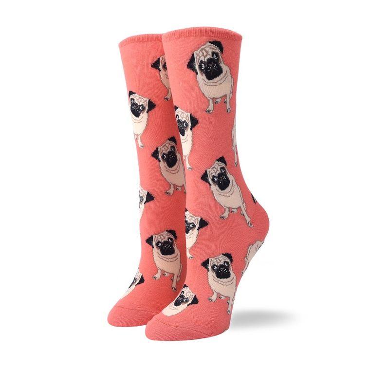 Women's Pug Dog Socks
