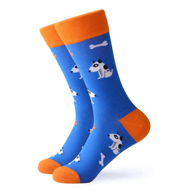 Women's Puppy & Bone Socks