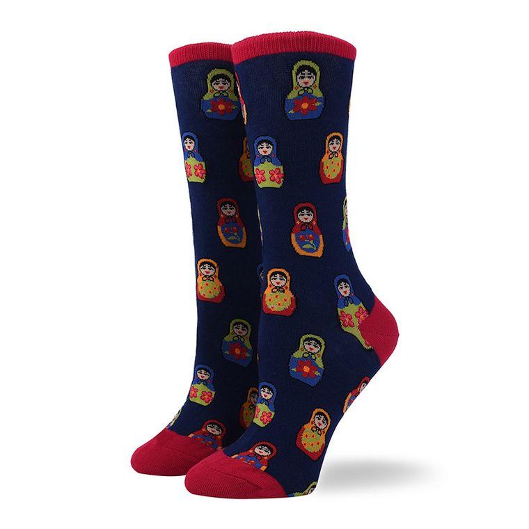Women's Russian Tea Doll Socks
