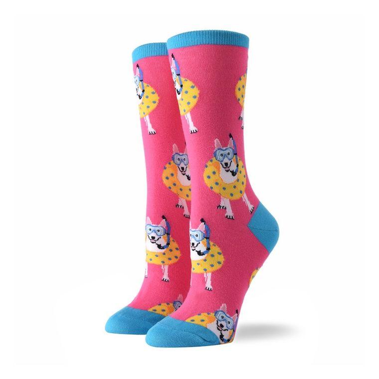 Women's Scuba Dog Socks