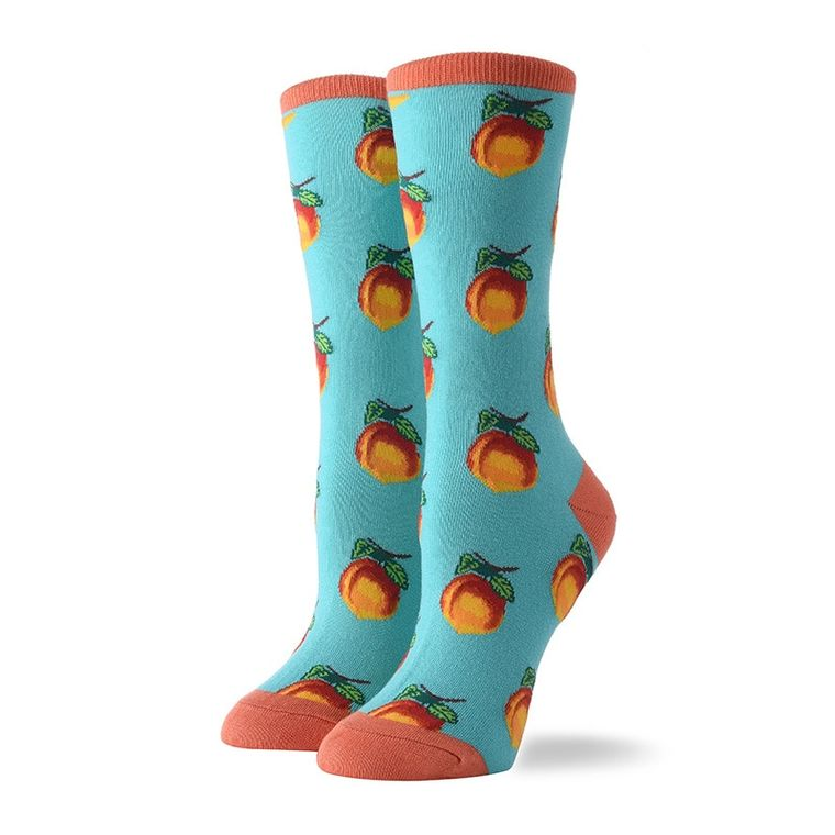 Women's Single Apricot Socks