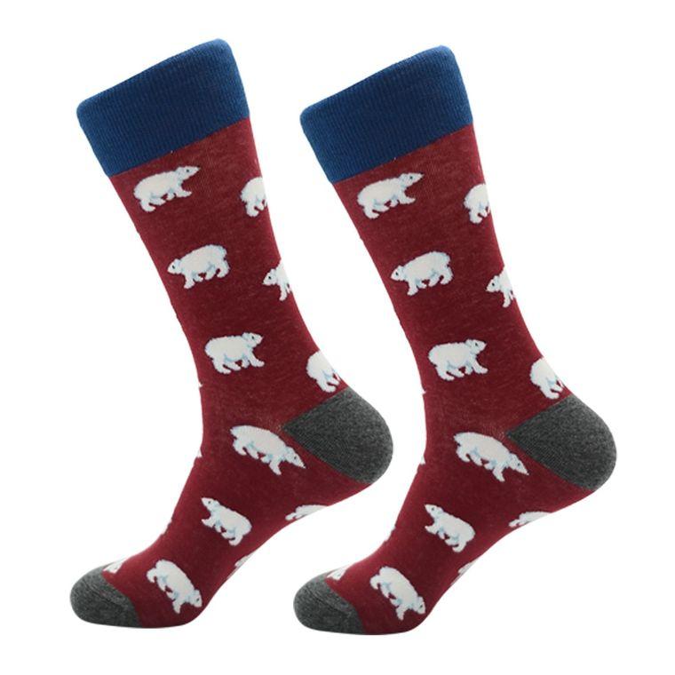 Women's White Polar Bear Socks
