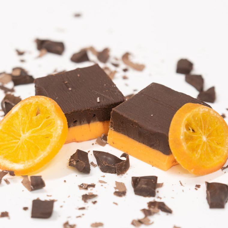 Dark Chocolate Orange Fudge