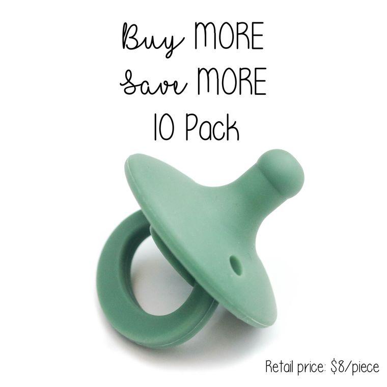 OLI pacifier : 10 Pack Fern