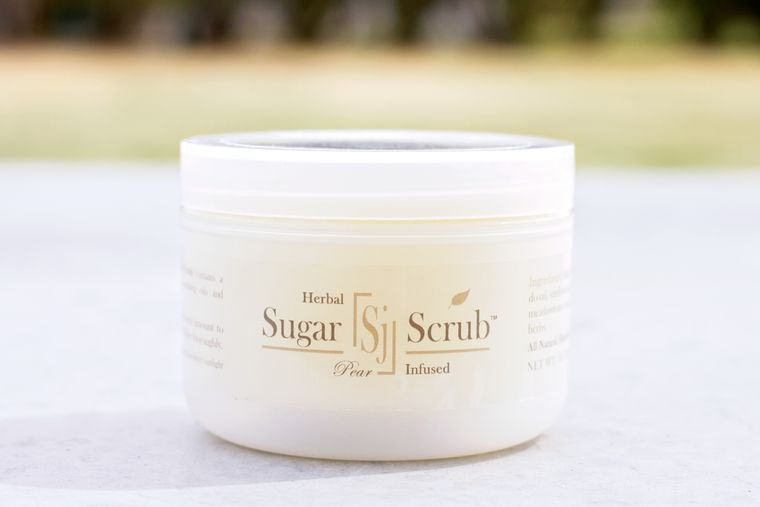 Herbal Infused Sugar Scrub