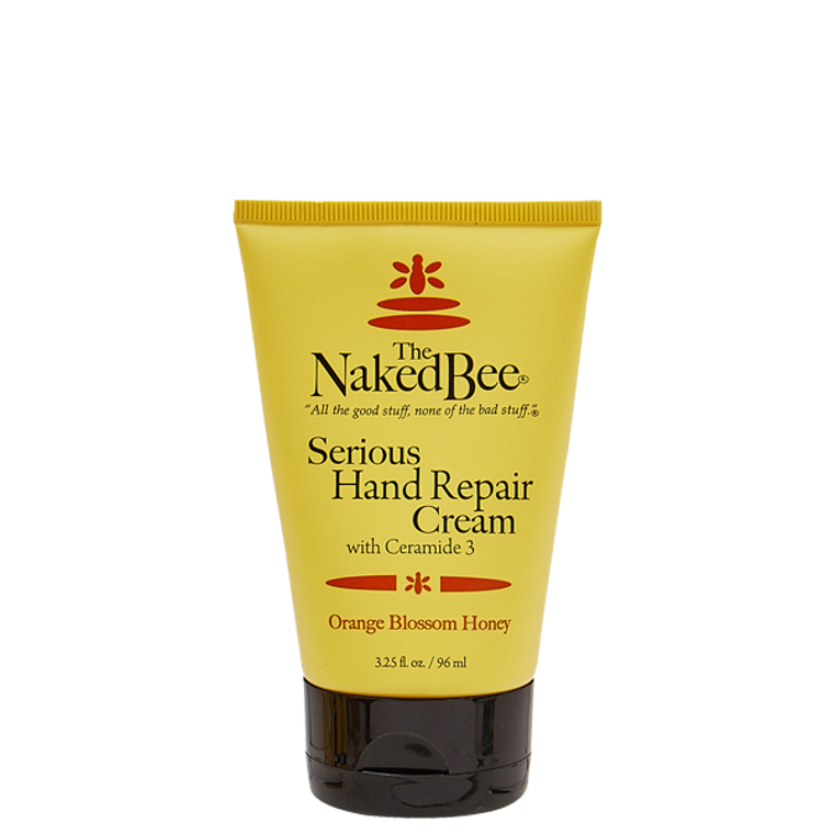 3.25 oz. Serious Hand Repair Cream - Orange Blossom Honey
