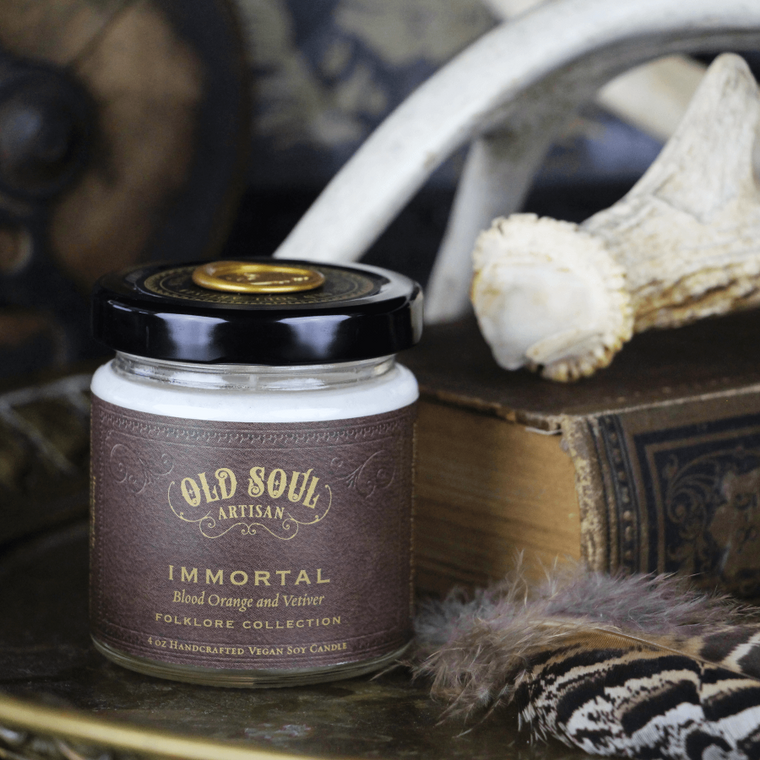 Immortal - 4 ounce soy candle
