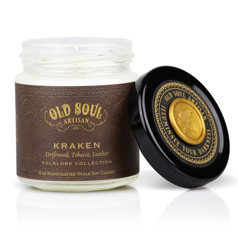 Kraken - 4 ounce soy candle