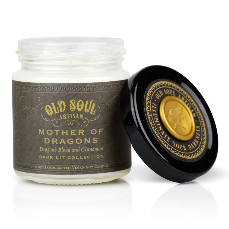Mother of Dragons - 4 ounce soy candle