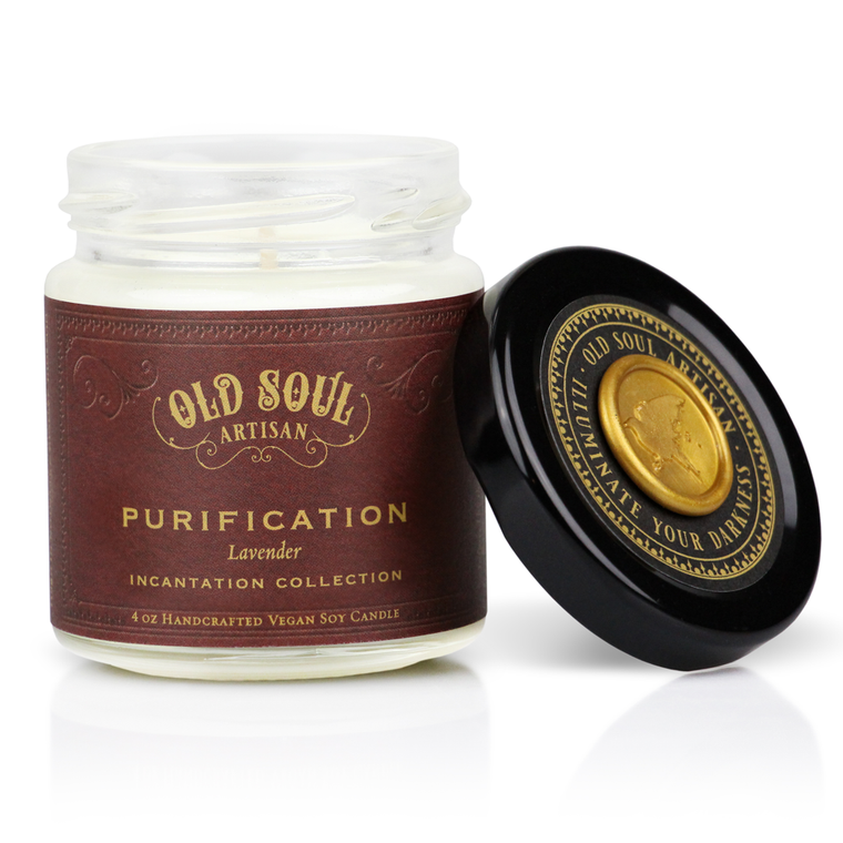 Purification - 4 ounce soy candle