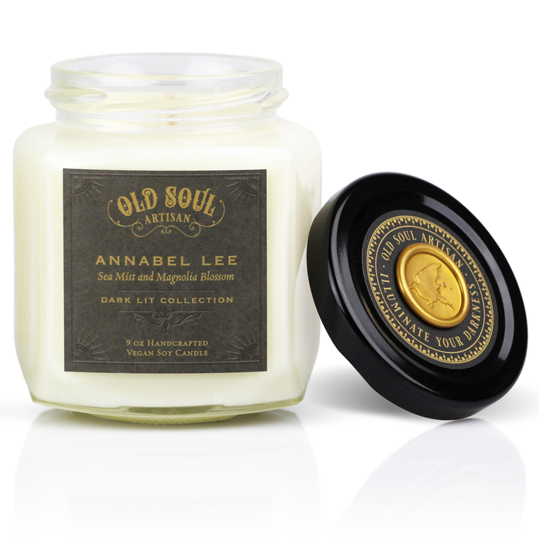 Annabel Lee - 9 ounce soy candle
