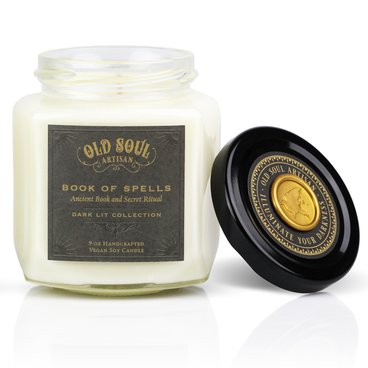 Book of Spells - 9 ounce soy candle