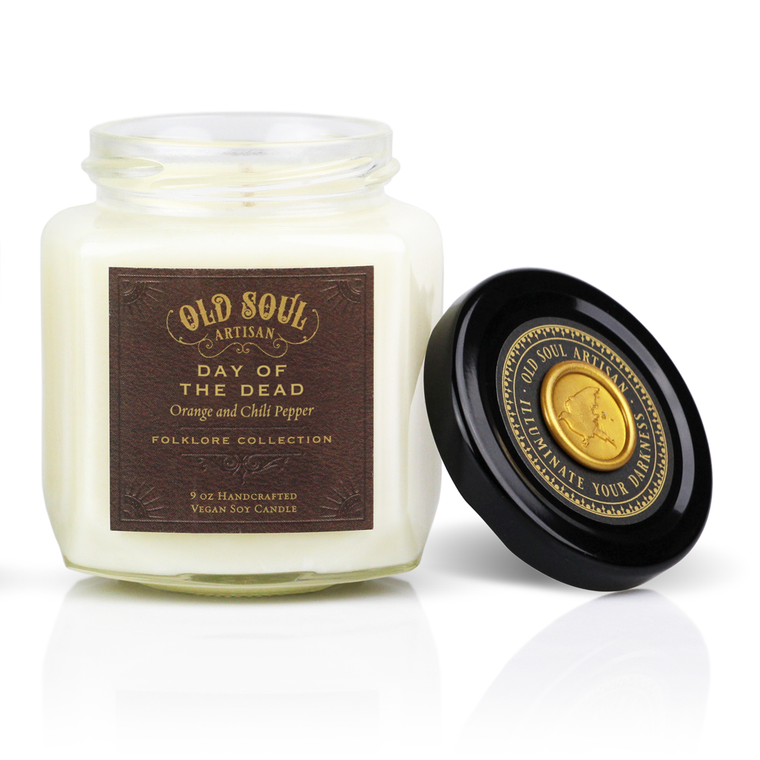 Day of the Dead - 9 ounce soy candle